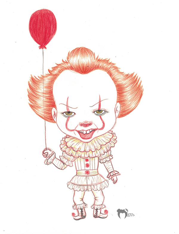 Pennywise by the-marou