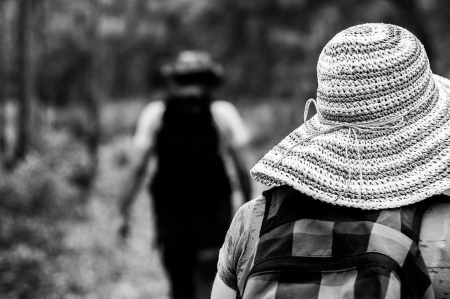 Hiking the Trail by Mimek