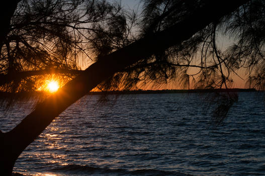 Sunset Over Sanibel