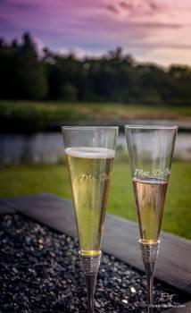 Champagne at Sundown