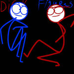 Dick Figures Red And Blue
