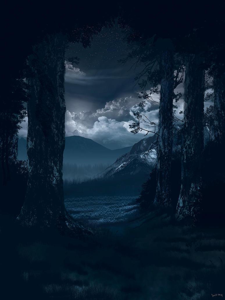 Among Silent Pine II by theyearbeforetime