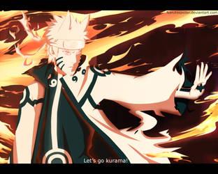 Naruto Bijuu mode by i-azu