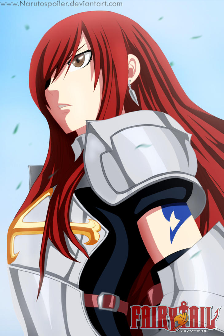 Fairy tail 284 Erza by i-azu on DeviantArt