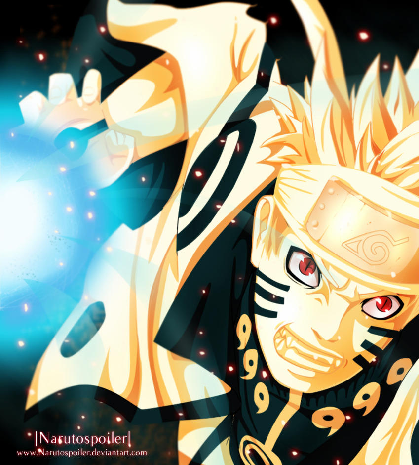 Naruto 598 Rasengan! By I-azu On DeviantArt