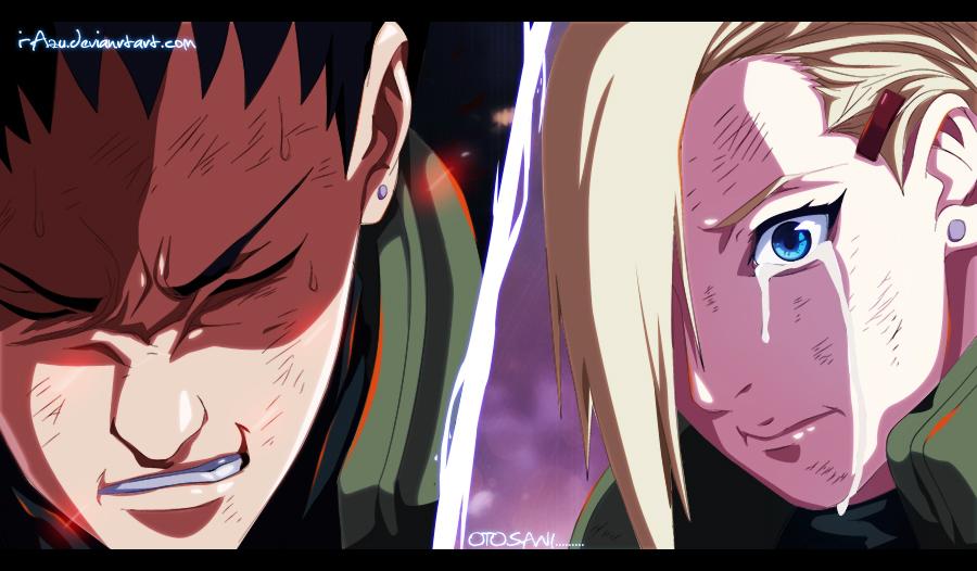 Naruto 613 - fathers die.... by i-azu