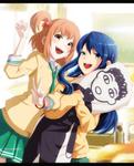 riko+maki by i-azu