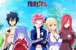 Fairy Tail Collab by i-azu