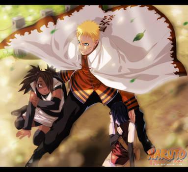 Naruto 703 - Nanadaime Hokage by i-azu