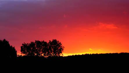 Magical sunrise by Navratin