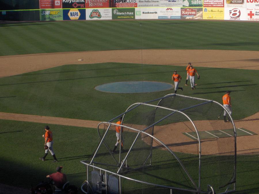 a baseball game :P by dottylola