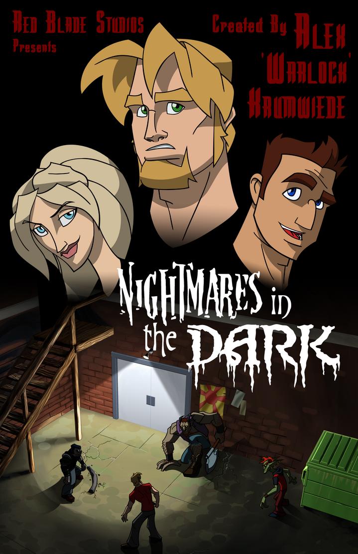 Nightmares Poster by RedBladeStudios