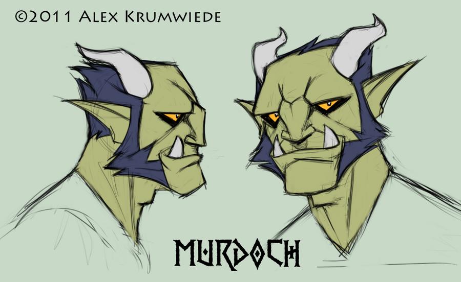 Murdoch by RedBladeStudios