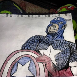 Captain america by THEKID1717