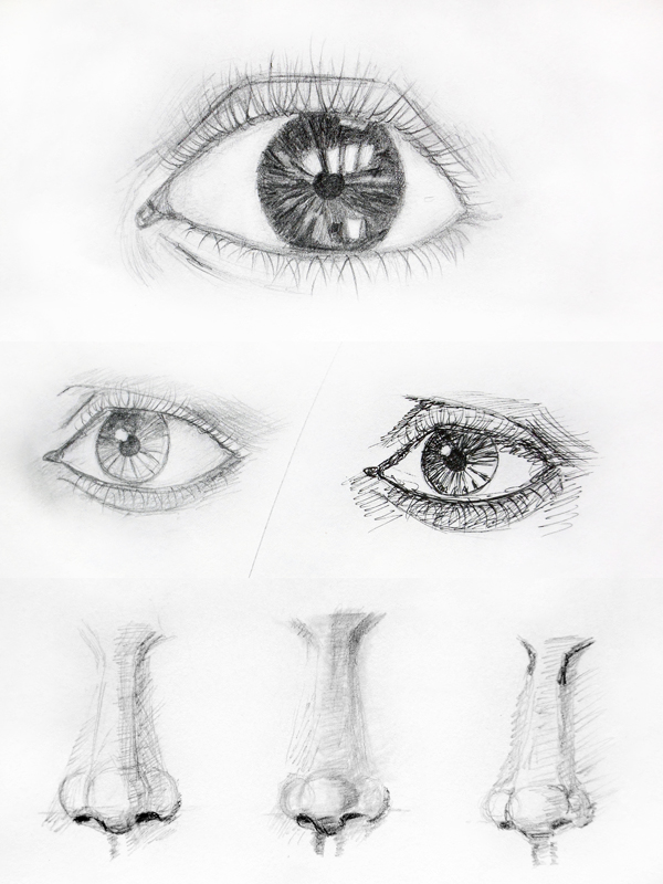 eye / nose practice by Citizzen