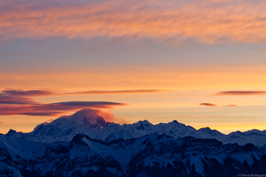 Mont Blanc au reveil by PierreRodriguez