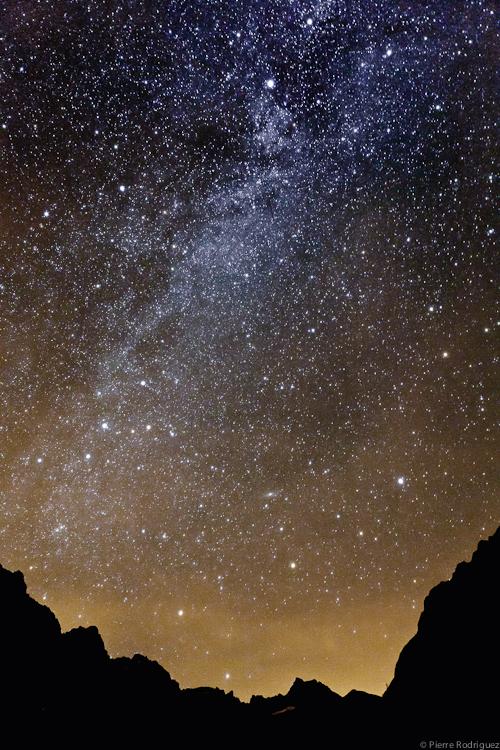 Sous la galaxie d'andromede by PierreRodriguez