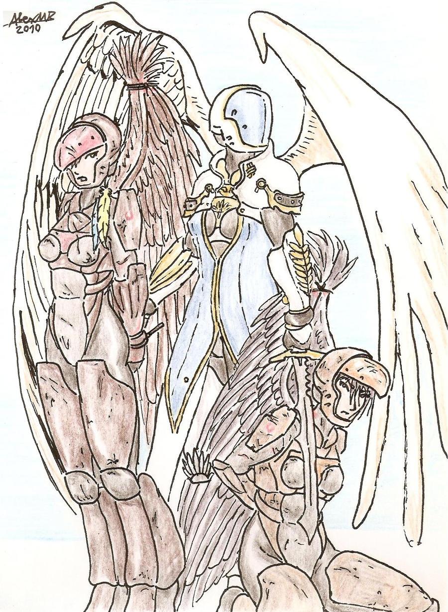 Fallen Angels by Shabazik