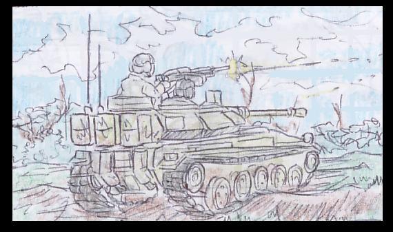 Arvenian Light Tank by Shabazik