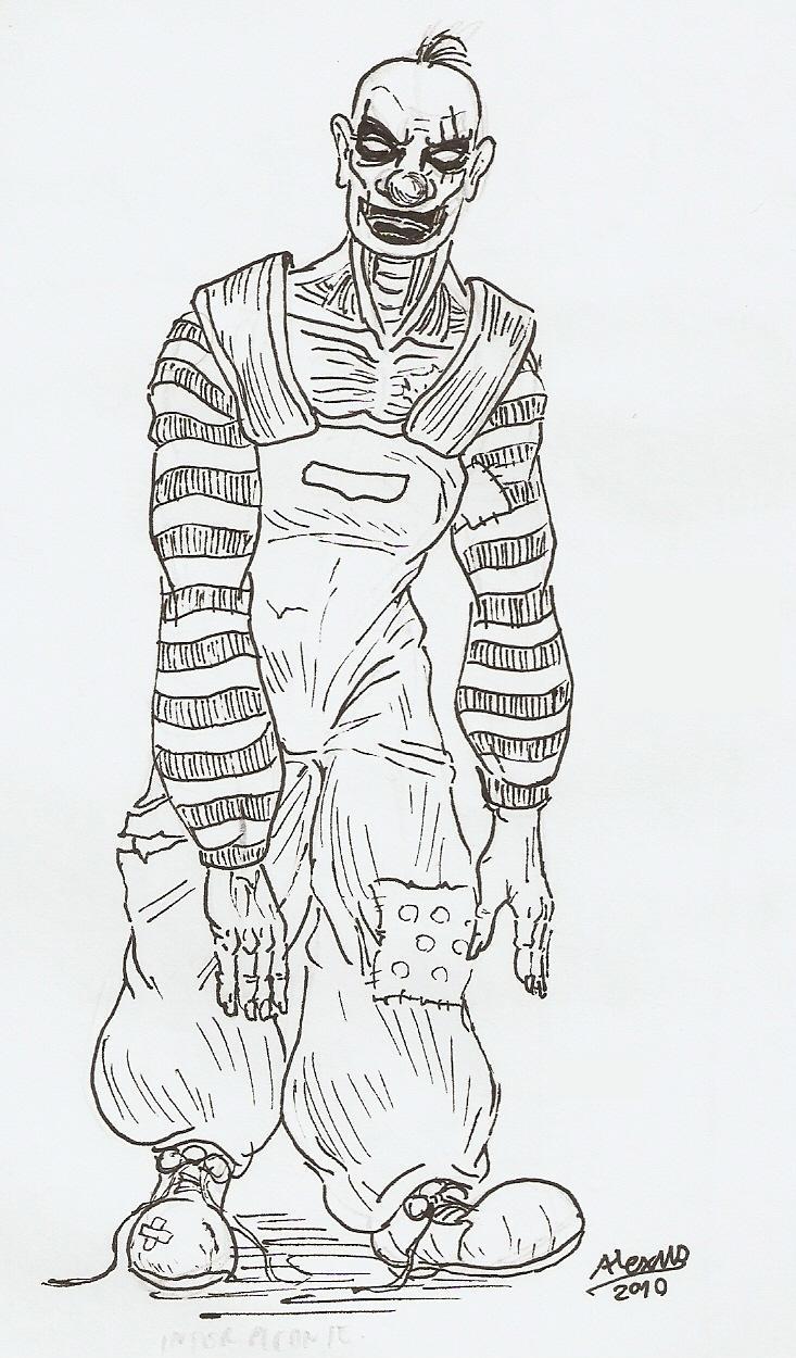 Happy Zombie Clown by Shabazik on DeviantArt
