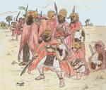 Sand Elf warriors