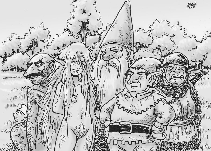 Gnomes, Elves and Goblins