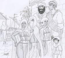 the market of Moh'Handinke by Shabazik