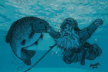 Carp and Dwarf by Shabazik