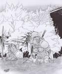 Ozcura Heavy Infantry by Shabazik