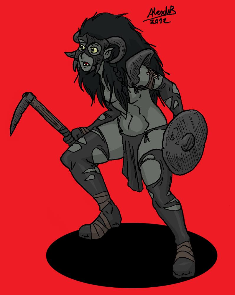Ozcura Warrior by Shabazik