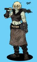 Schlobohmi Orc mercenary