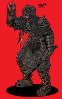 Orc Brumer soldier by Shabazik