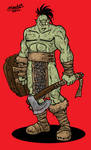 Antorian orc warrior