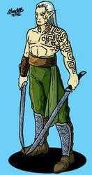 Silvan elf blade dancer