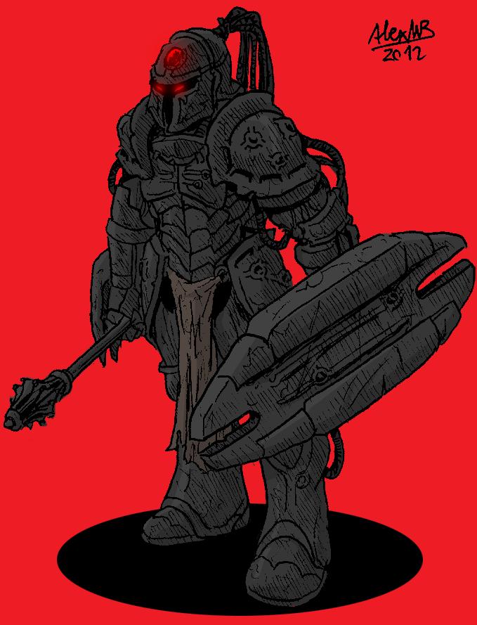 Pixerian Legionary by Shabazik