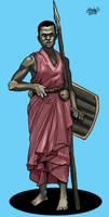 Human spearman of Nykundu