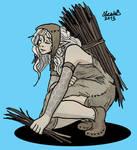 Ash elf camp-follower