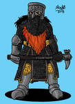 Helmed Dwarf war maiden