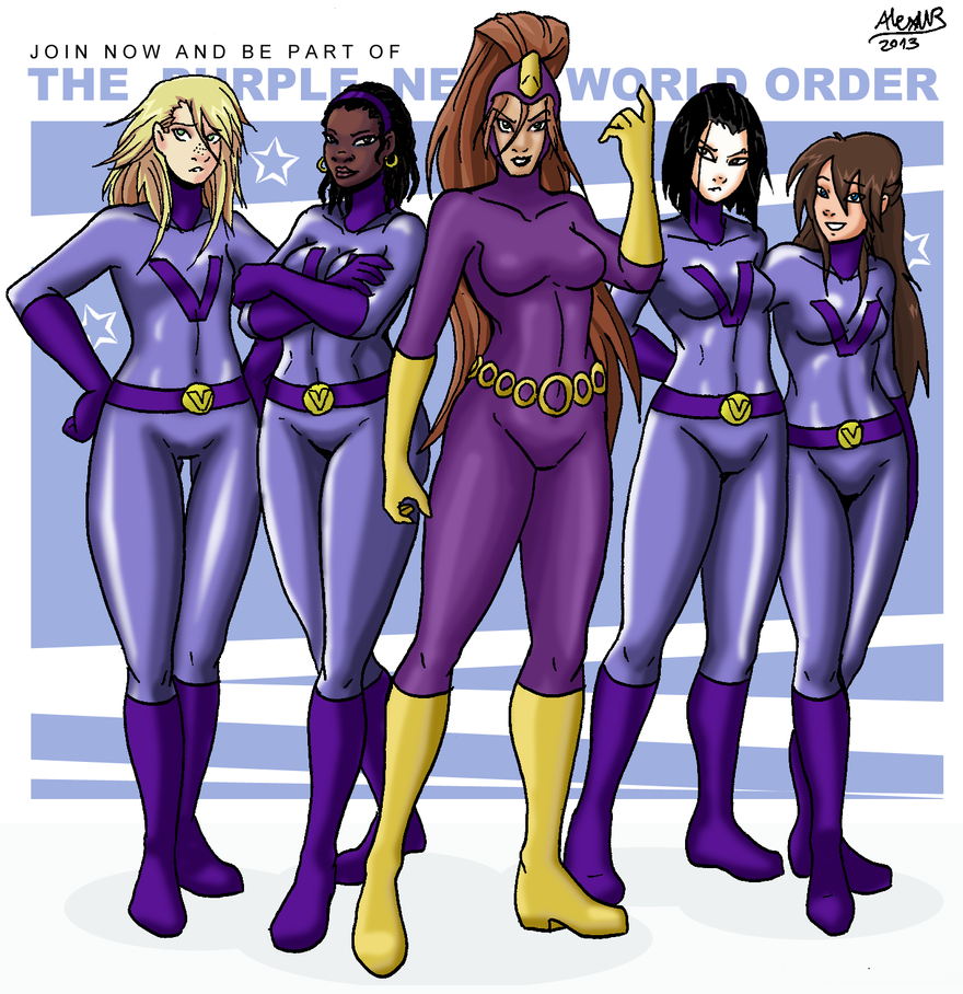 The Purple New World Order By Shabazik On DeviantArt