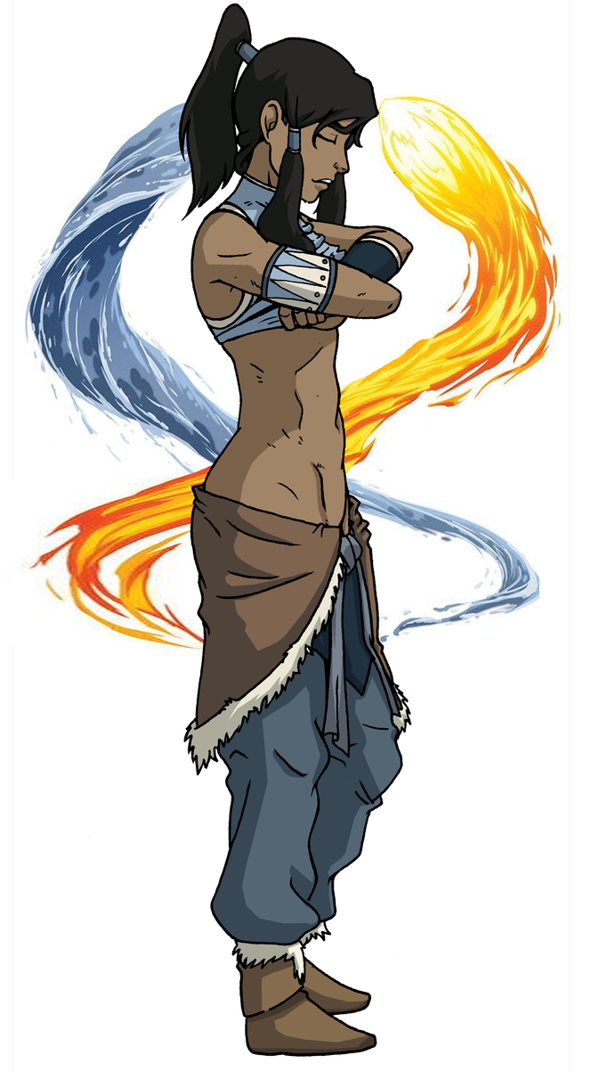 avatar korra by ko corral by shabazik on deviantart