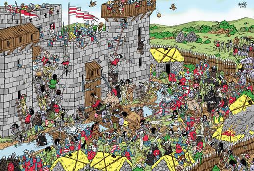 Castle Raid - Where is Wally?!