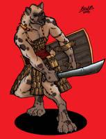 Gnoll Mercenary by Shabazik