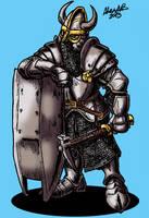 Zwerg Fronhost Guardsdwarf by Shabazik