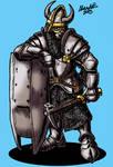 Zwerg Fronhost Guardsdwarf