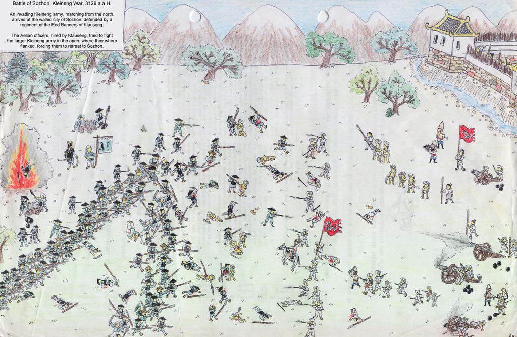 Battle of Sozhon, Kleineng War by Shabazik
