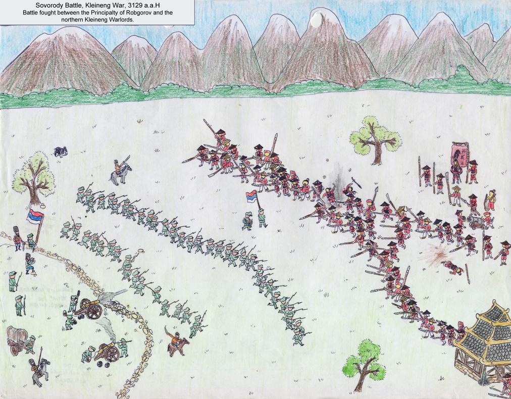 Sovodoroy Battle, Kleineng War by Shabazik