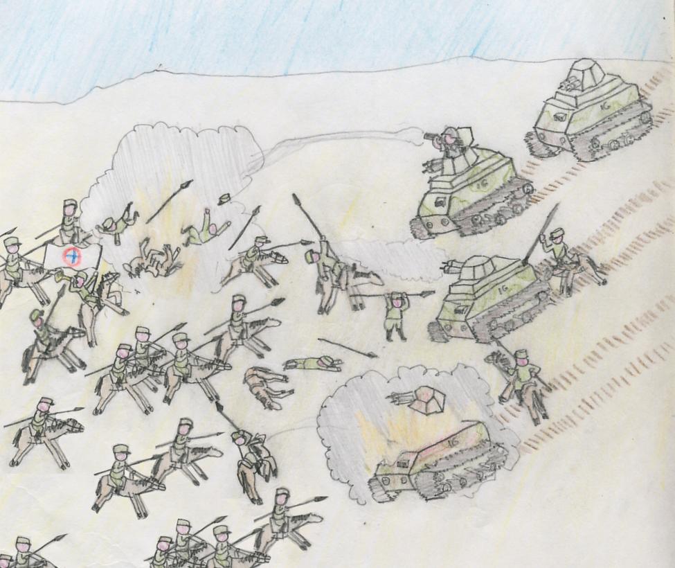 Ignacian Wars, Cavalry Charge by Shabazik