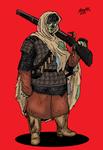 Sha-Hog Orc Musketeer