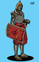 Human Ushaverican Warrior by Shabazik