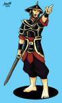 Human Sergeant of Hinbina by Shabazik